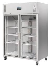 glass door gastro fridge