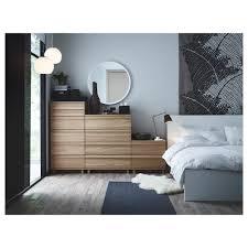 Oak Bedroom Chest Of Drawers Oppland 2 Drawer Chest Oak Veneer Ikea