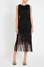 On The Fringe Dress Fringe Tassel Midi Dress Sassandbide