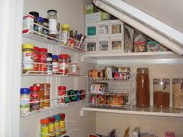 image of corner kitchen pantry ideas