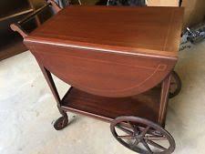 antique bar cart. Antique Tea Cart Mahogany Dauler Close Furniture Co PA Bar Wheels