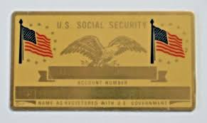 Engravable Social Metal Card Security Vintage
