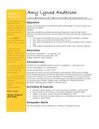 Veterinary Resumes Veterinary Technician Resume Objective Examples Tipss Und