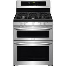 Gas Kitchen Ranges Frigidaire Gallery 59 Cu Ft Double Oven Gas Range With Self