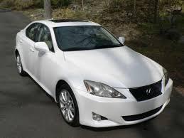 lexus is 250 2007 white. 2007 lexus is250 sedan 4door 25l awd pearl whitecashmere is 250 white