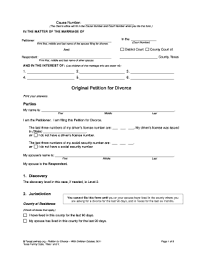 84 Printable Petition Template Forms Fillable Samples In Pdf Word