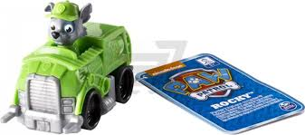 ᐉ <b>Игрушка Spin Master Paw</b> Patrol Машина с фигуркой Рокки ...