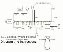 Mictuning 12ft Led Light Bar Wiring Harness 40a Relay