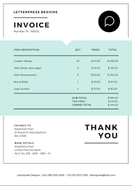 Online Invoices Free Free Online Invoice Maker Design A Custom Invoice In Canva 22