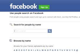 facebook without logging