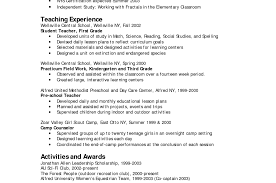 100 Sample Teacher Cover Letter No Experience Preschool