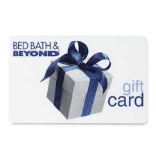 bed bath and beyond gift card balance