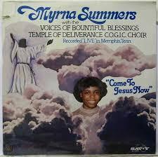 lp vinyl, MYRNA SUMMERS: Come To Jesus Now - sealed U.S | #65904654