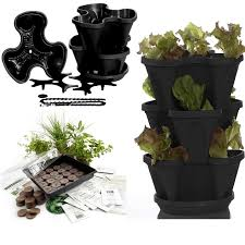 outdoor herb garden kit. Perfect Kit Indoor Or Outdoor Growing Kit For Cooking Herbs Comes With 12 Culinary  Seeds And Everything You Need To Grow Them A Stackable Planter Transplant  And Herb Garden Kit