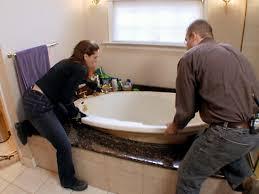 installing a new bathtub. Step 1 Installing A New Bathtub