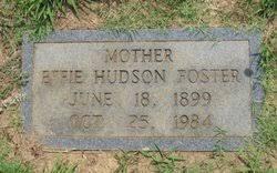 Effie Hudson Foster (1899-1984) - Find A Grave Memorial