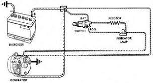 alternator and generator theory a typical internally regulated alternator wiring diagram from a 1973 buick is below for reference click on the image to see a larger view