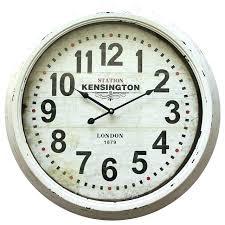 36 inch wall clock inch wall clock clocks exciting distressed wall clocks inch wall clock round