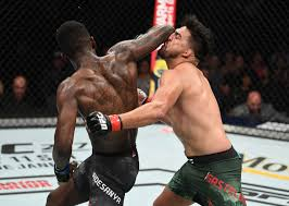 Stylebender defends his belt at #ufc253 but never forget when he won it in this war with kelvin gastelum! Bisping Till Belfort Kelvin Gastelum Names Ufc Champion Israel Adesanya As The Hardest Puncher He Has Ever Faced