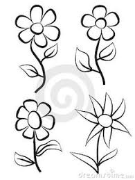 Small Picture Lettering Line drawing Motivation How to draw flowers 1