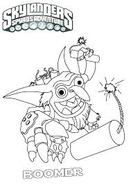 Skylanders Colouring Pages Coloring Pages Pop Fizz Page Printable