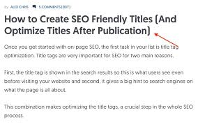 What Is The H1 Tag And Why It Is Important For Seo