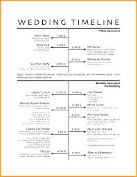 Wedding Reception Itinerary Template Digitalhustle Co