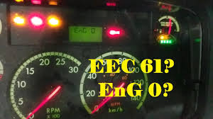 Freightliner Warning Lights Reading Fault Codes From A Freightliner M2 Dash
