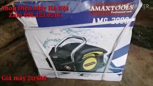 Thử Máy Xịt Rửa cao áp - máy rửa xe ôtô - Amaxtools AMG 2000 - YouTube