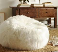 faux fur bean bag white fuzzy lounge chairs lamb chair with additional white fur bean bag chair and wobble chair upholstery