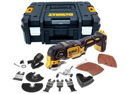 dewalt 18v tools. dewalt dcs355nt 18v xr brushless multi tool bare unit in tstak with accs dewalt tools