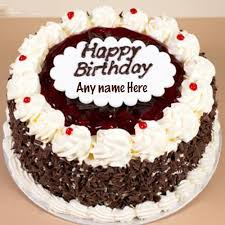 Write Name On Birthday Cake With Birthday Cake Name Writing