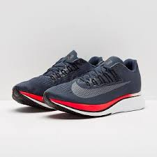nike running shoes red and grey. nike zoom fly - blue fox/black/bright crimson running shoes red and grey a
