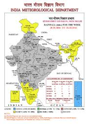 Imd Weather Chart Imd Rainfall For The Previous Week