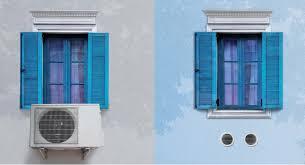 Klimaanlage Unico Twin Split Klimagerät Ohne Aussengerät Mit 26 Kw