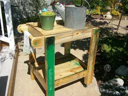 patio carts with wheels elegant cart outdoor recycledpallet pallet furniture