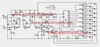 six simple led lighting circuit for christmas gadgetronicx Led Christmas Lights Wiring Diagram audio activated led christmas light flasher circuit wiring diagram for led christmas lights