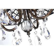 4 light crystal chandelier 4 light antique copper round drum crystal chandelier ceiling fixture indoor 4 4 light crystal chandelier