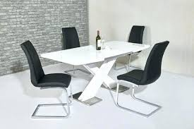white high gloss dining table and grey chairs white high gloss dining table mark extending bianca glass round