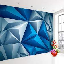 3D Wall Murals Wallpaper Stereoscopic ...