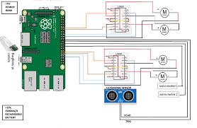 surveillance robot for military application international journal figure 3 circuit diagram of system