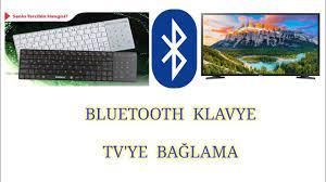 BLUETOOTH KLAVYE TV'YE BAĞLAMA - YouTube