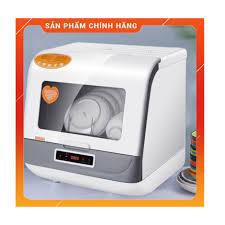Máy rửa chén bát thông minh mini Kore Sport tiện lợi cho gia đình nhỏ,  nhiệt độ cao diệt vi khuẩn, máy quạt mạnh sạch se chính hãng 3,500,000đ