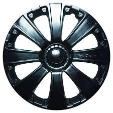 Купить <b>Колпак колеса</b> декоративный RS-T черный <b>R16</b>, 1 шт с ...