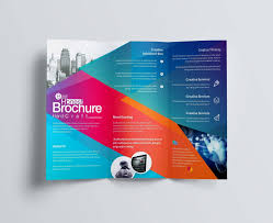 Avery Tri Fold Brochure Templates Letter Folding Template Samples Letter Templates