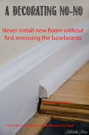 door frame trim molding hardwood floor baseboard how to remove baseboard with gap between wood floor and baseboard