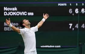 Novak Djokovic Wins Wimbledon, U.S. Open is Next - The New York Times