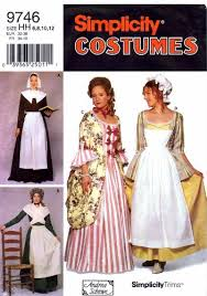 Colonial Dress Patterns
