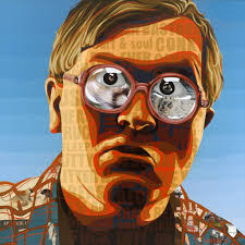 mike smith as bubbles painting by borbay
