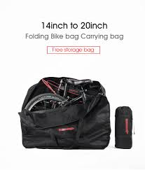 "<b>RHINOWALK</b> 14""<b>16</b>""<b>20</b>"" Big Folding Bike Carrier Carry Packing Bag ..."